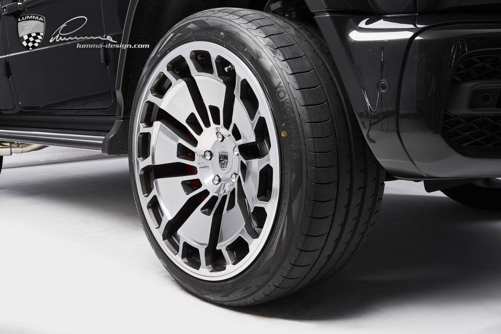 Lumma CLR G770 G-Wagen wheels