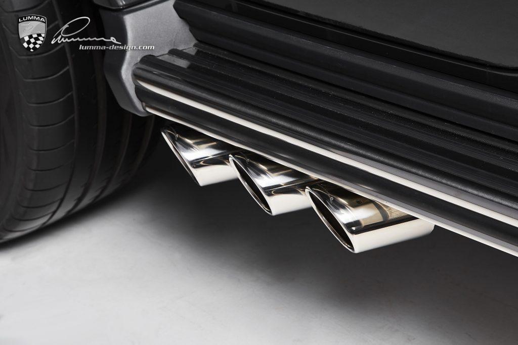 Lumma CLR G770 G-Wagen exhaust tips