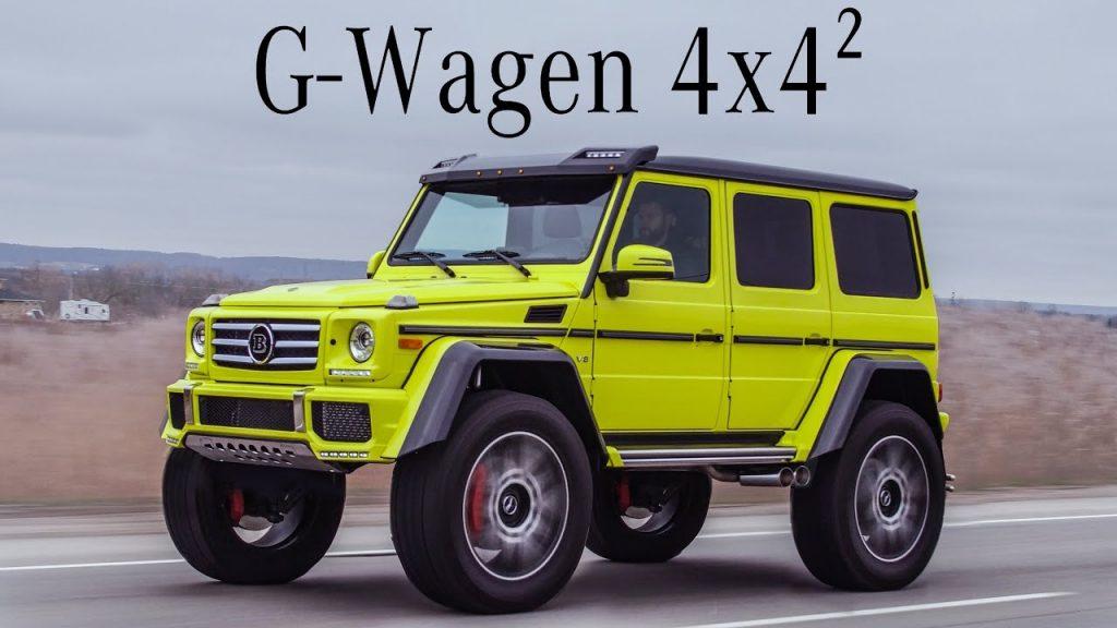 Mercedes G550 4x4 Squared