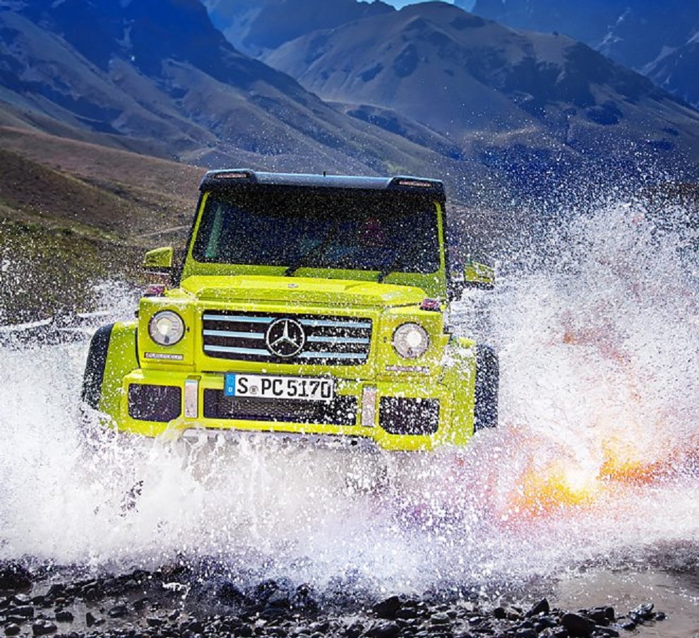 Mercedes G550 4x4 Squared fording