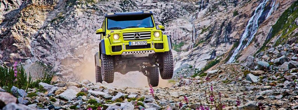 Mercedes G550 4x4 Squared off-road