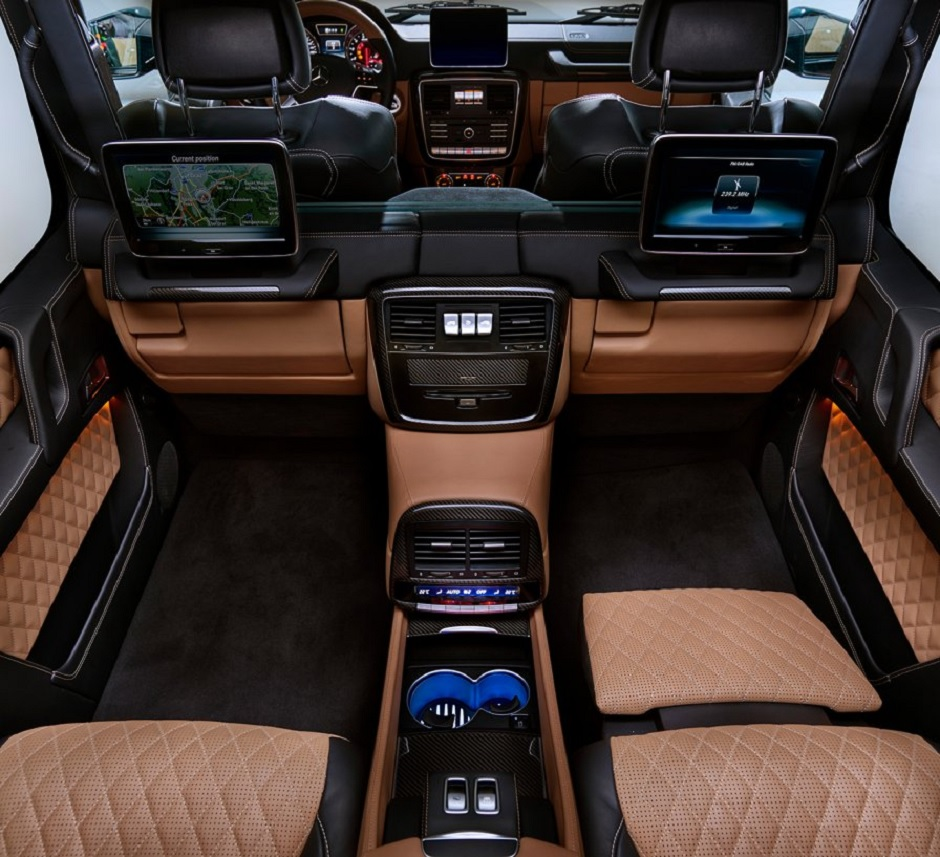Mercedes-Maybach G 650 Landaulet interior