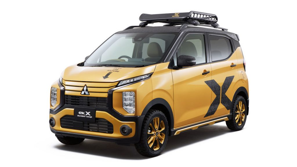 Mitsubishi 2020 Tokyo Auto Salon concept   Mitsubishi