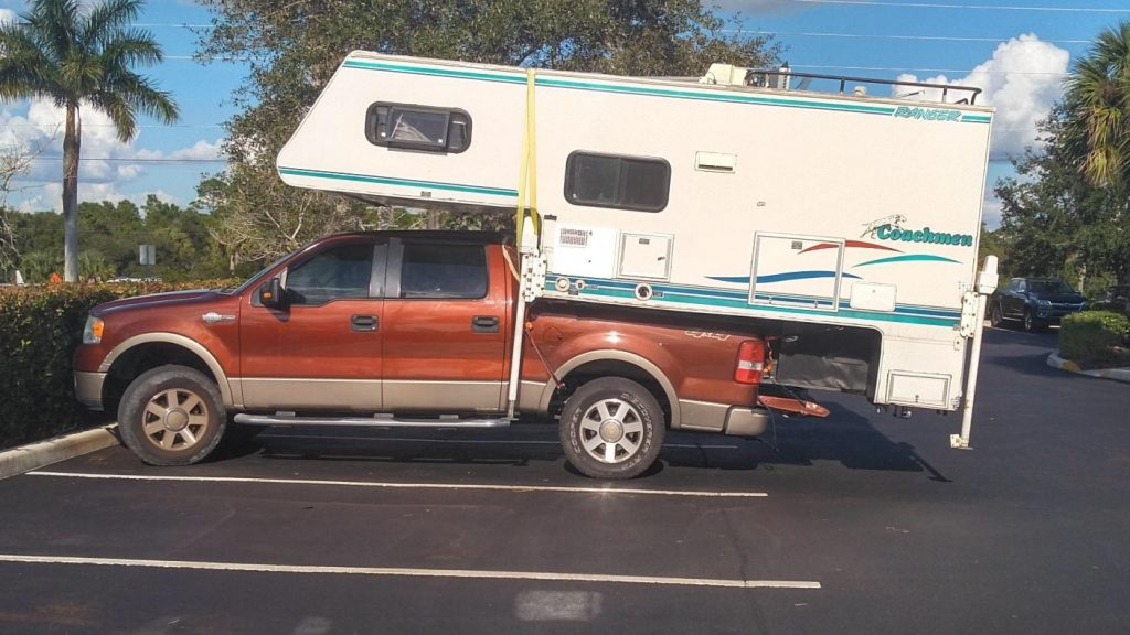 Overloaded 11th-gen Ford F-150 King Ranch