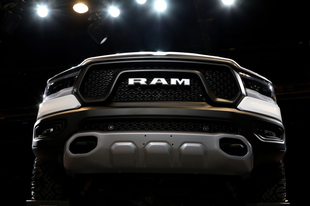 The RAM 2500 at the Chicago Auto Show