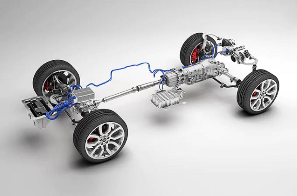 Range Rover mild hybrid system