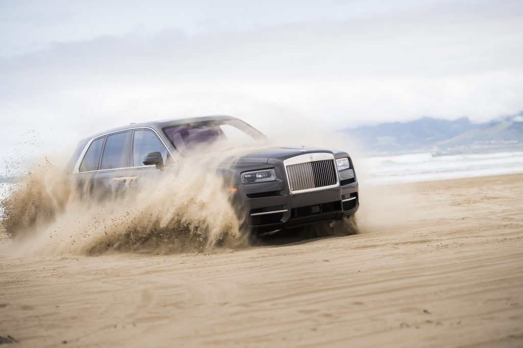 Rolls-Royce Cullinan Rebelle Rally