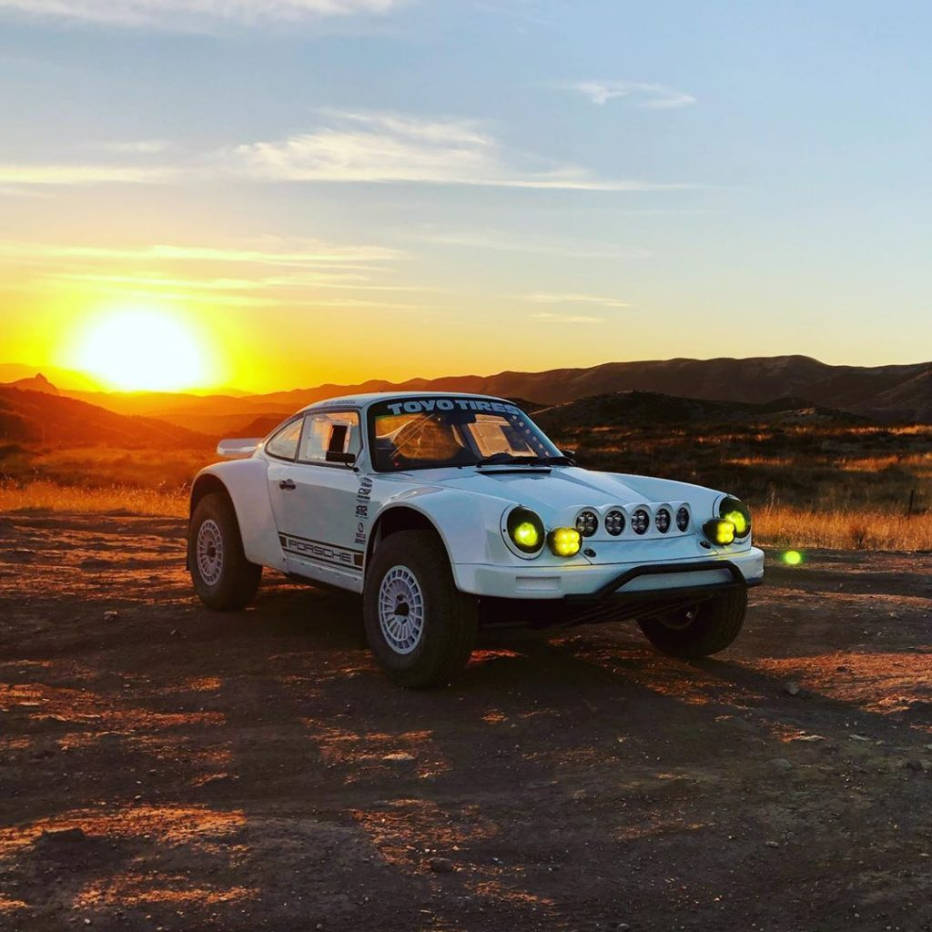 Russell Built Fabrications Safari Porsche 911