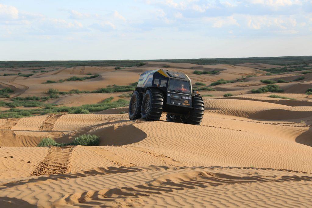 Sherp ATV in desert