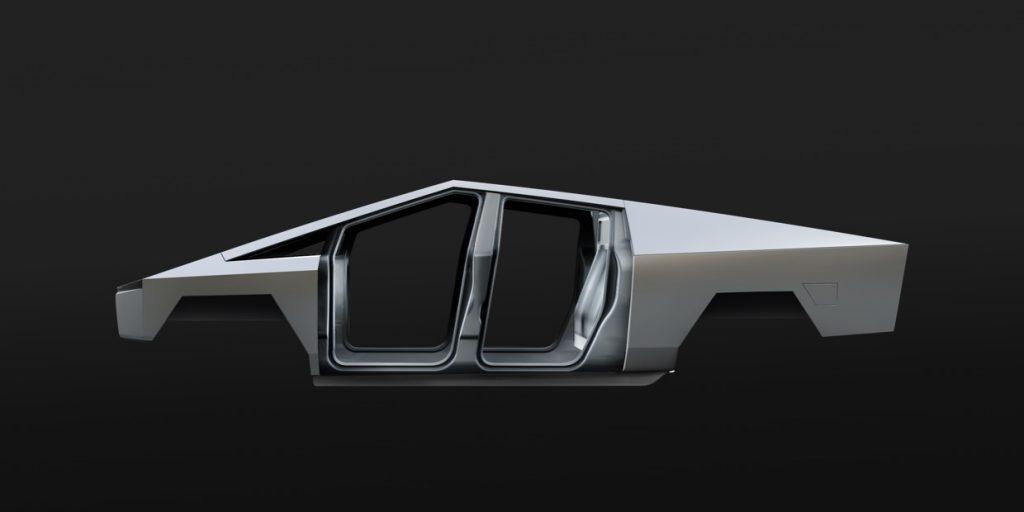 Tesla Cybertruck frame