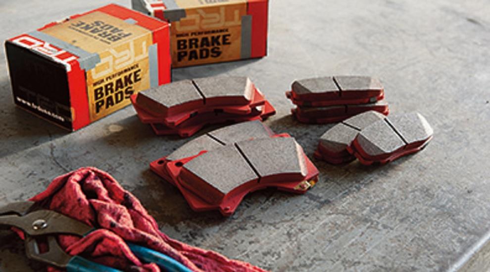 Toyota 4Runner TRD brake pads