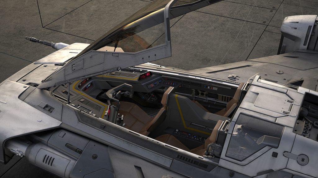 Tri-Wing S-91x Pegasus Starfighter cabin