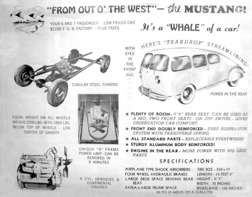 1949 Mustang Teardrop Whale