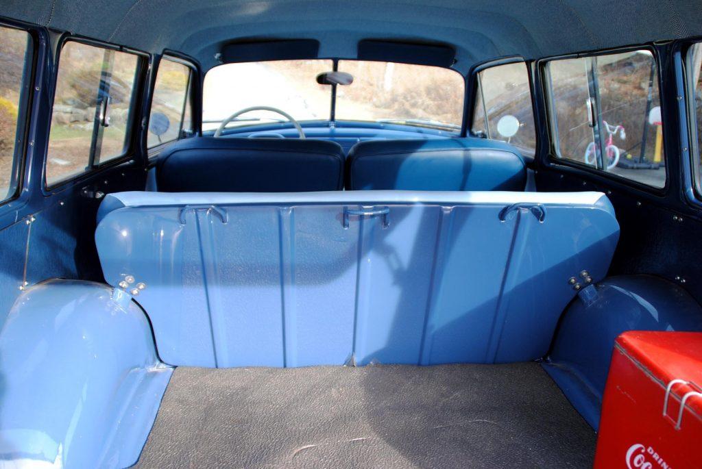 1952 Plymouth Suburban interior and cargo area