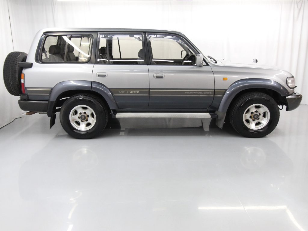 The rugged 1993 Toyota Land Cruiser VX Limited