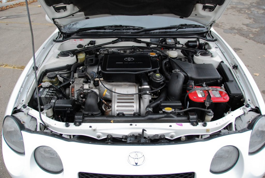 1994 Toyota Celica GT4 engine bay
