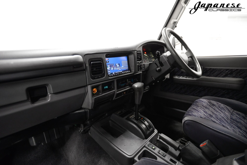 1994 Toyota Land Cruiser 70-Series interior