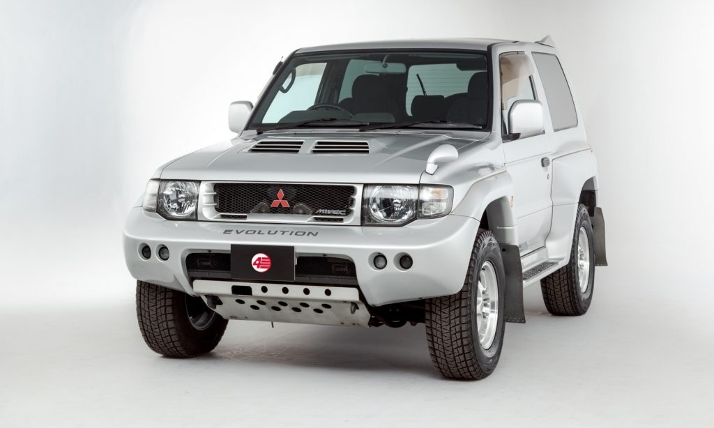 1997 Mitsubishi Pajero Evolution