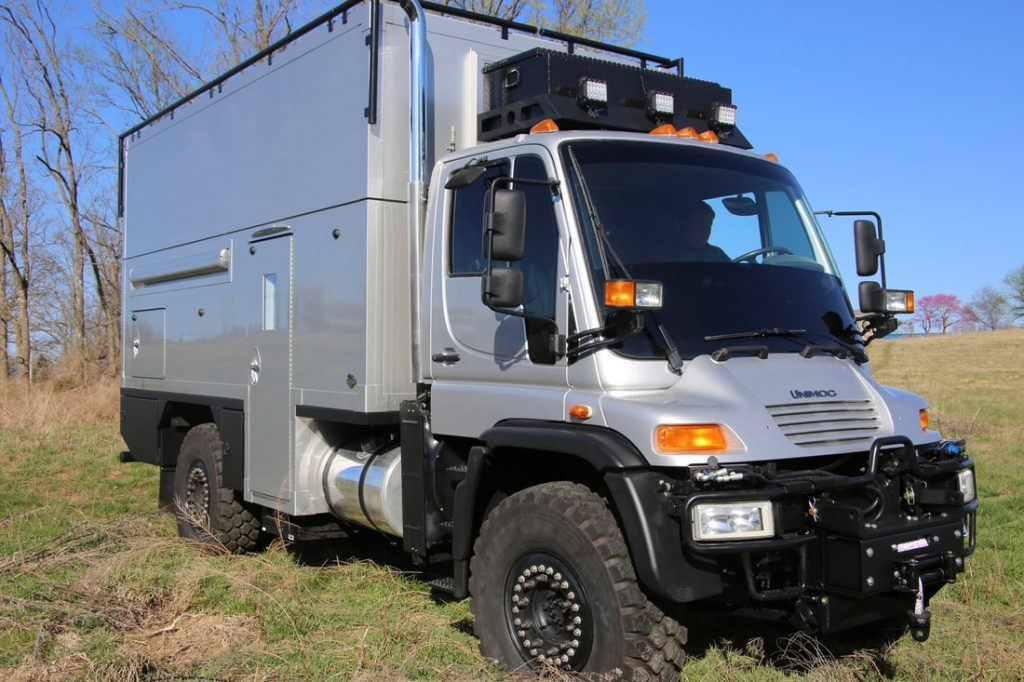 2004 Mercedes Unimog U500 Global Expedition Vehicles camper
