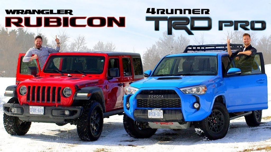 2019 Toyota 4Runner TRD Pro vs. 2019 Jeep Wrangler Rubicon