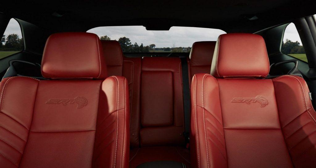 2020 Dodge Challenger SRT Hellcat interior