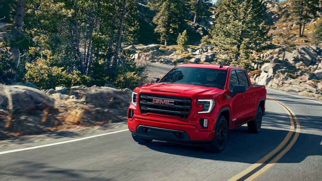 2020 GMC Sierra 1500 Elevation driving down road