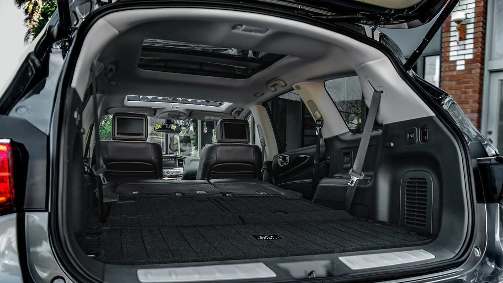 2020 Infiniti QX60 with 3rd row seats folded