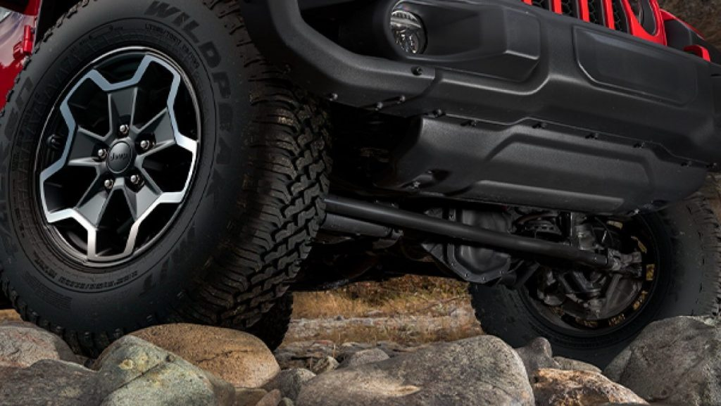 2020 Jeep Gladiator Rubicon axles
