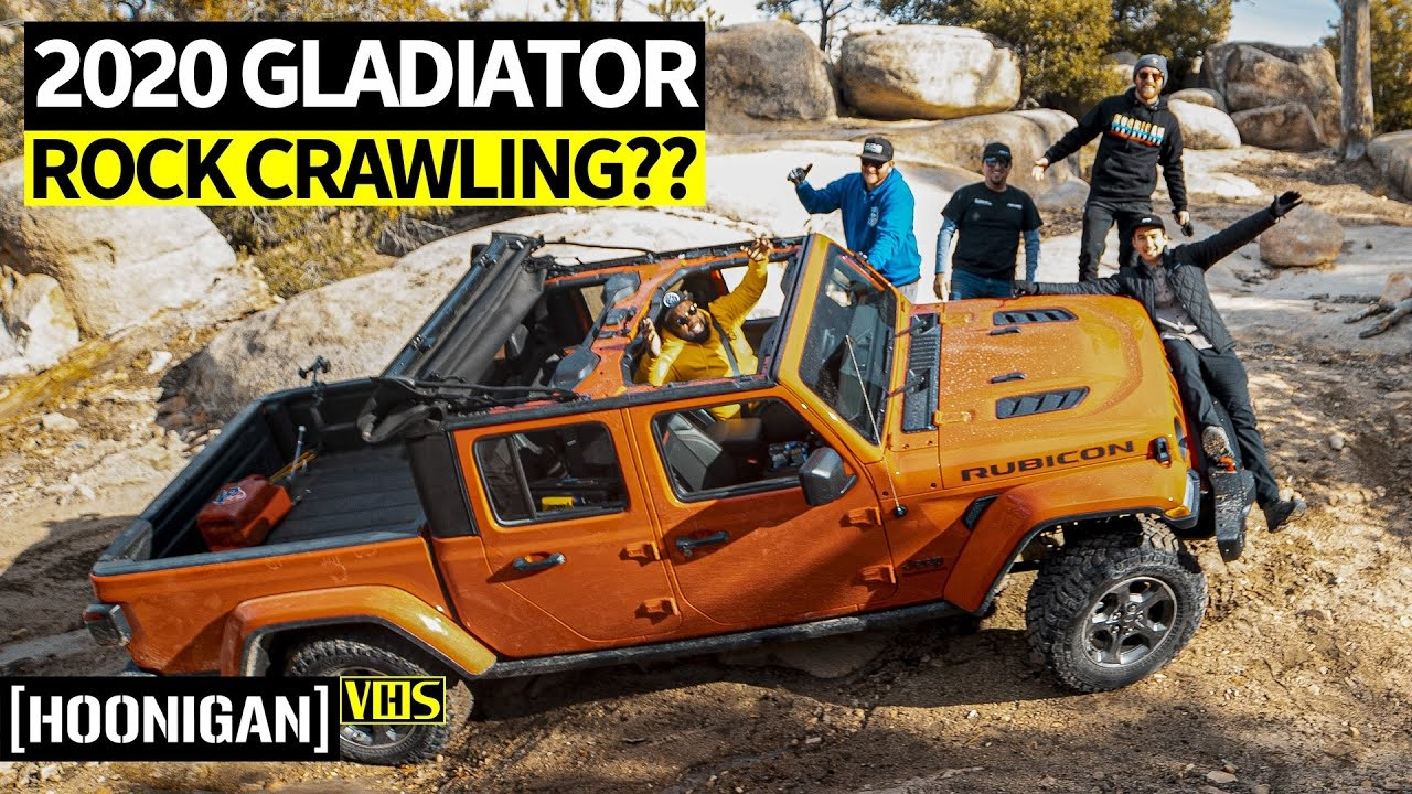 Can the Jeep Gladiator Rubicon Make Total Noobs Into Off ...
