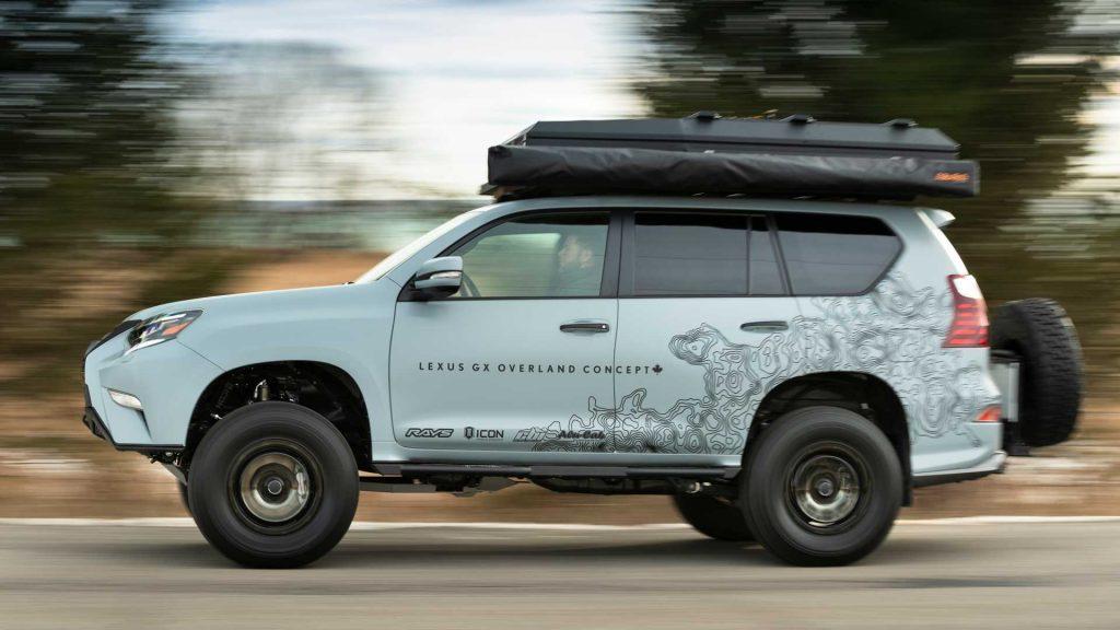 2020 Lexus 460 GX Overland luxury camping concept | Lexus-0