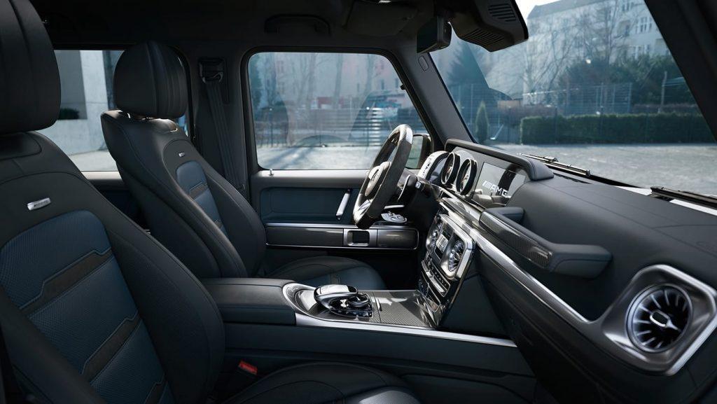 2020 Mercedes-AMG G63 front interior