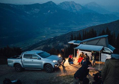 2020 Mercedes Benz X-Class pickup | MB-