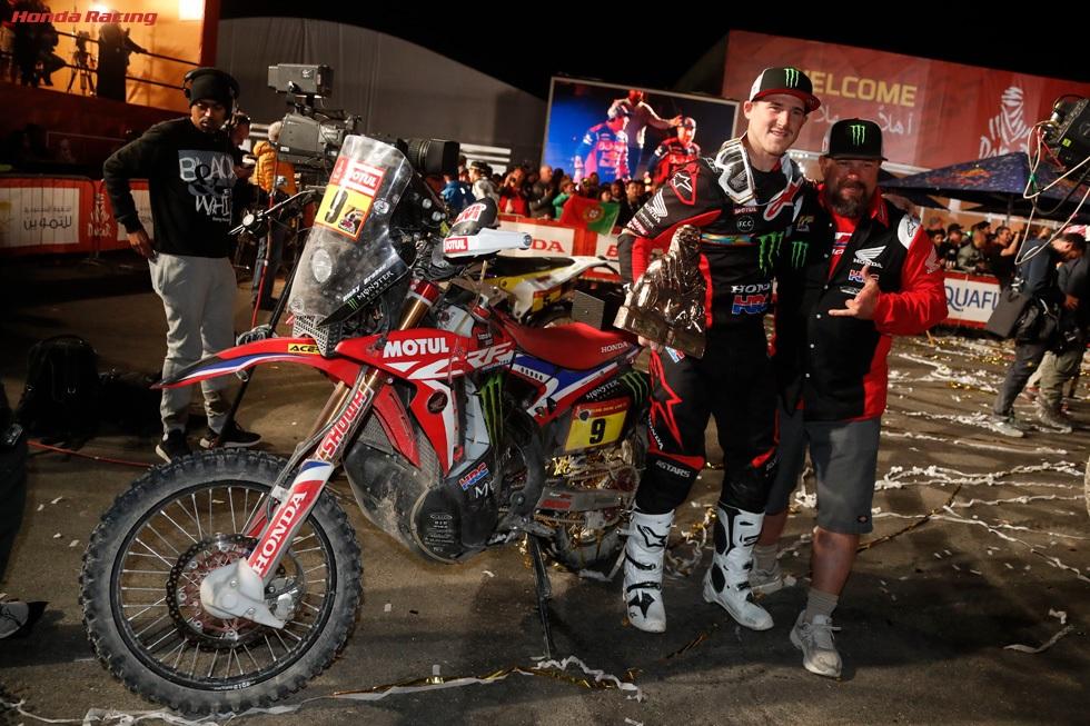 2020 Paris-Dakar Rally winner Ricky Brabec