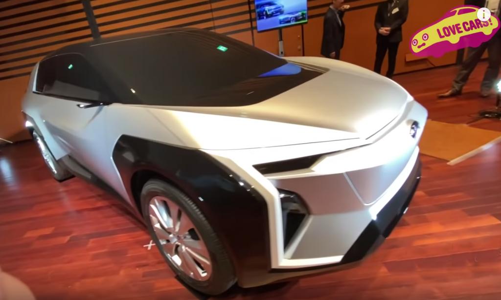 2020 Subaru EV Crossover Concept |  LoveCars!-