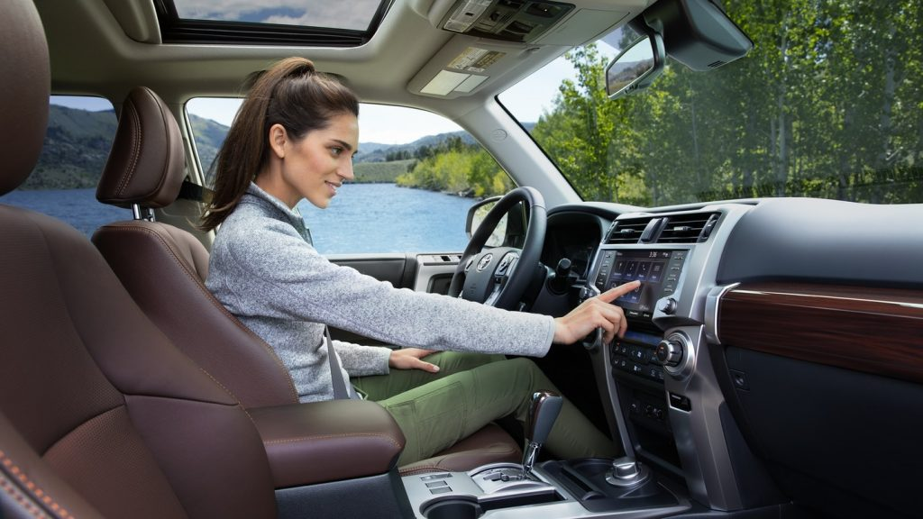 2020 Toyota 4Runner Limited interior front