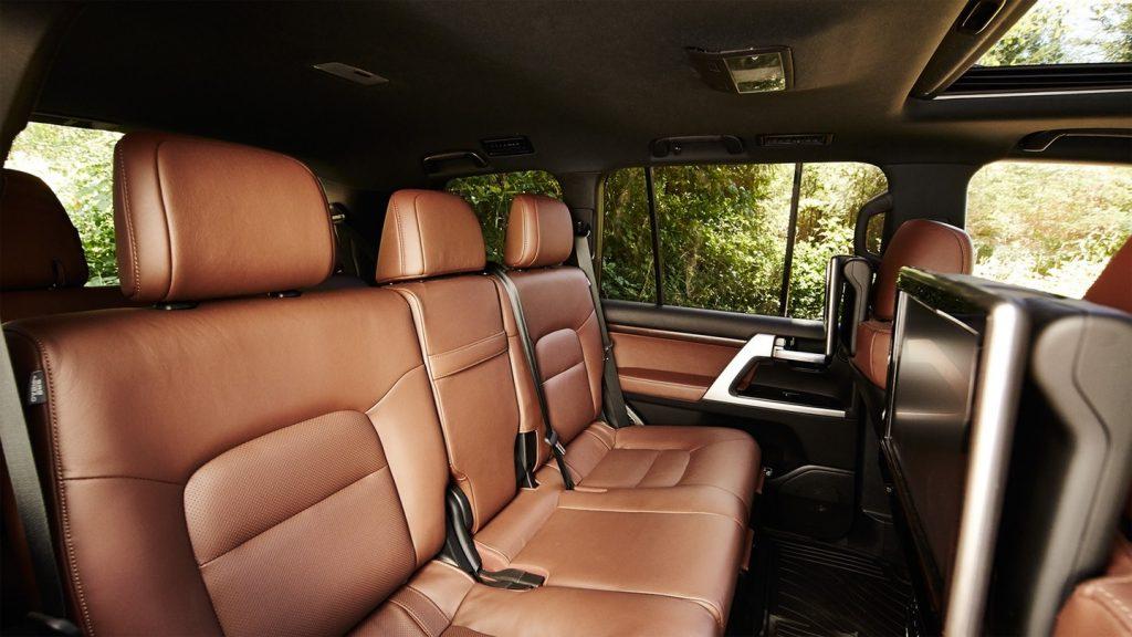 2020 Toyota Land Cruiser interior rear