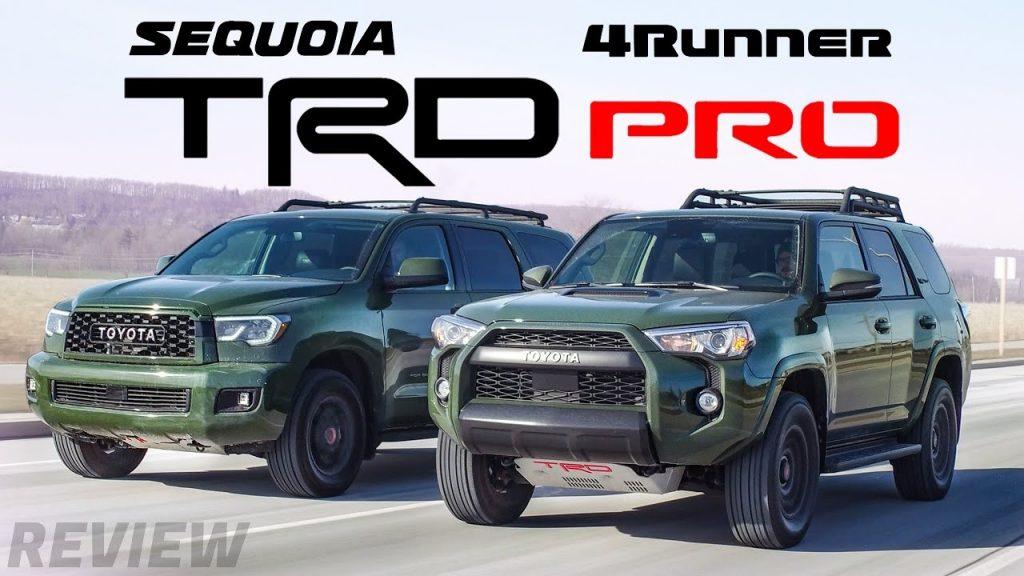 2020 Toyota Sequoia TRD Pro vs. 2020 Toyota 4Runner TRD Pro