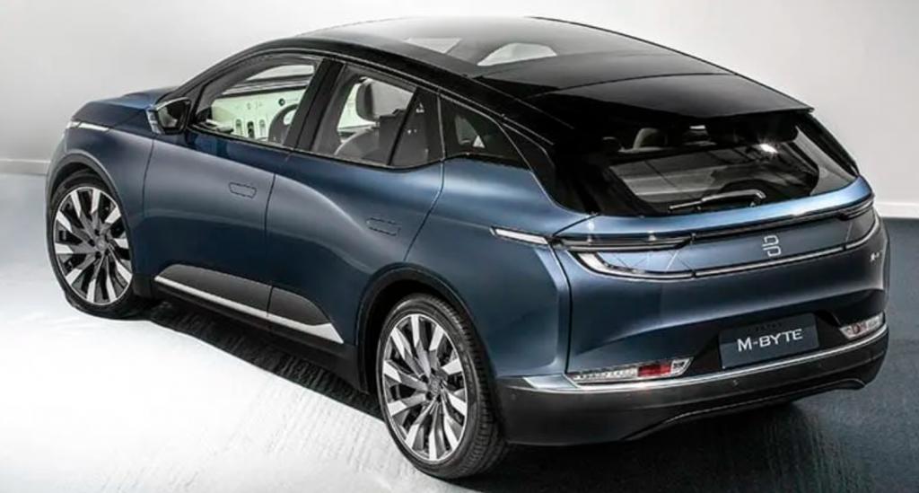 2021 Byton M-Byte SUV   Byton