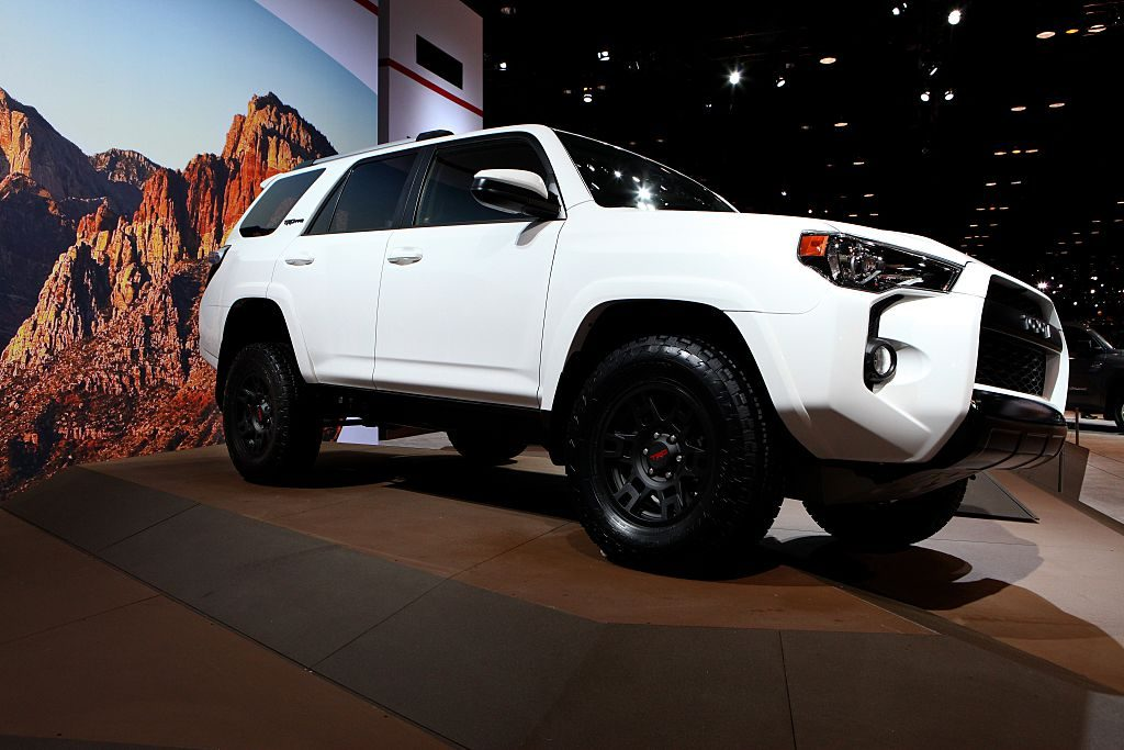 The Toyota TRD Pro 4Runner at the Annual Chicago Auto Show