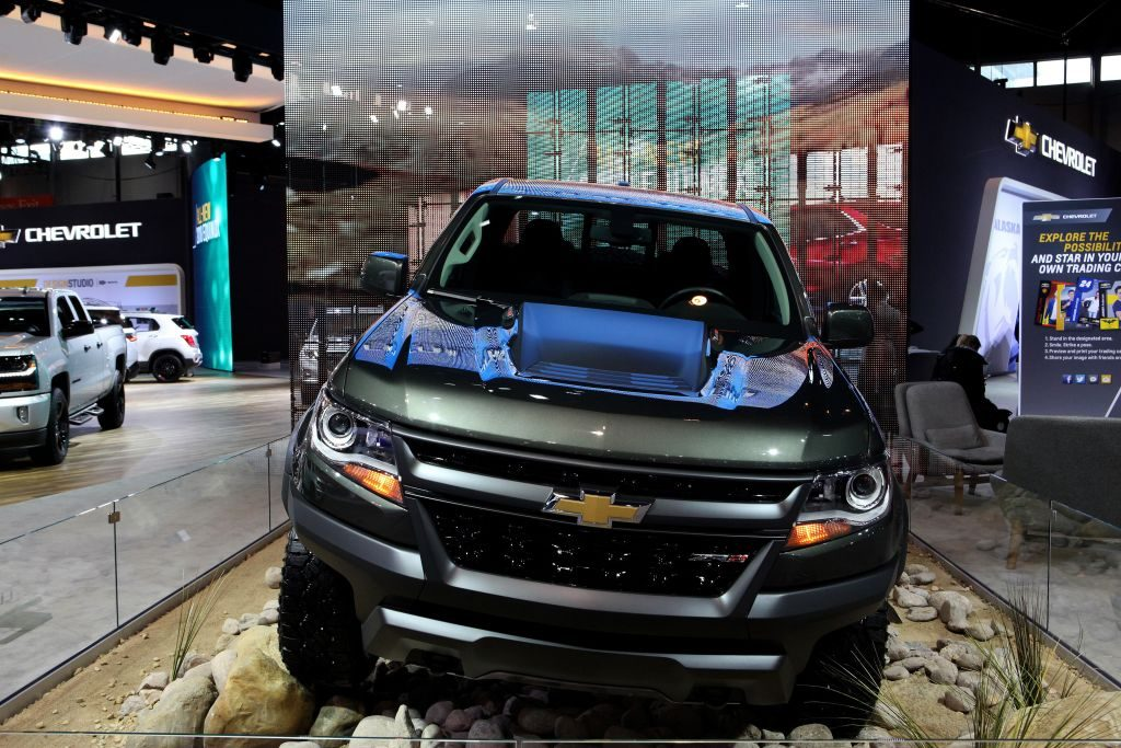 The Chevy Colorado at the Annual Chicago Auto Show
