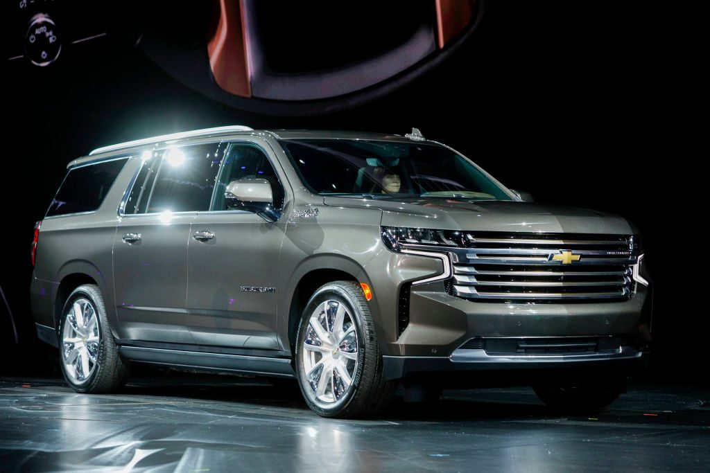 The new 2021 Chevy Suburban unveiling