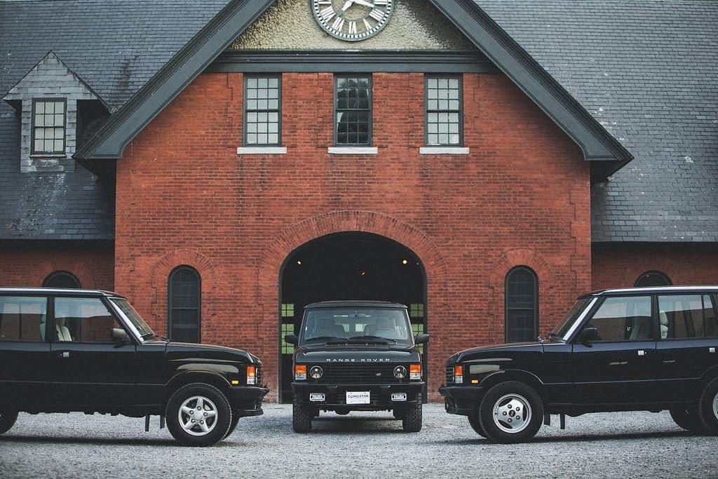 Congleton Service restored Range Rover Classics