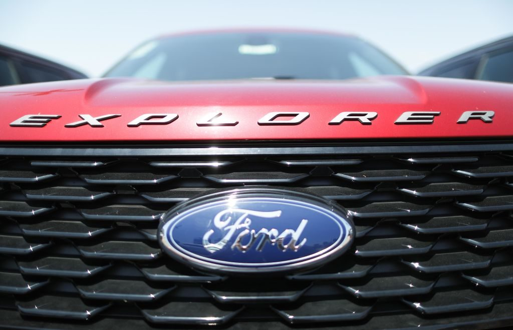 Ford's premiere three-row SUV, the Ford Explorer