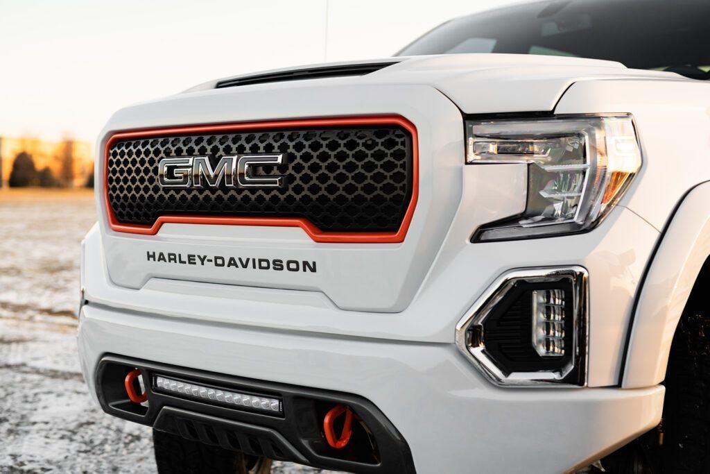 GMC Sierra Harley-Davidson edition grille