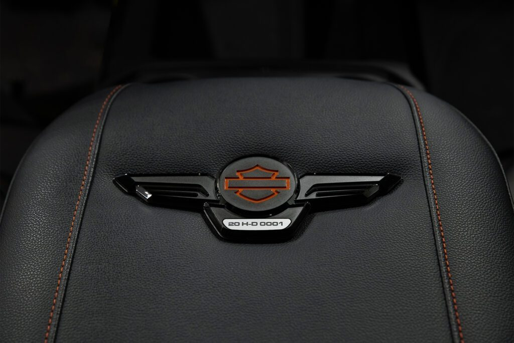 GMC Sierra Harley-Davidson edition numbered badge