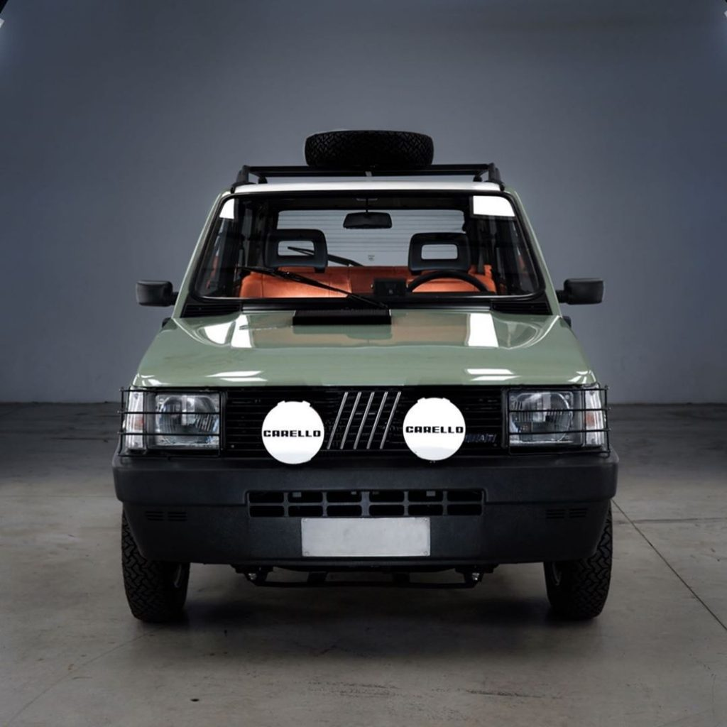 Garage Italia electric Fiat Panda 4x4