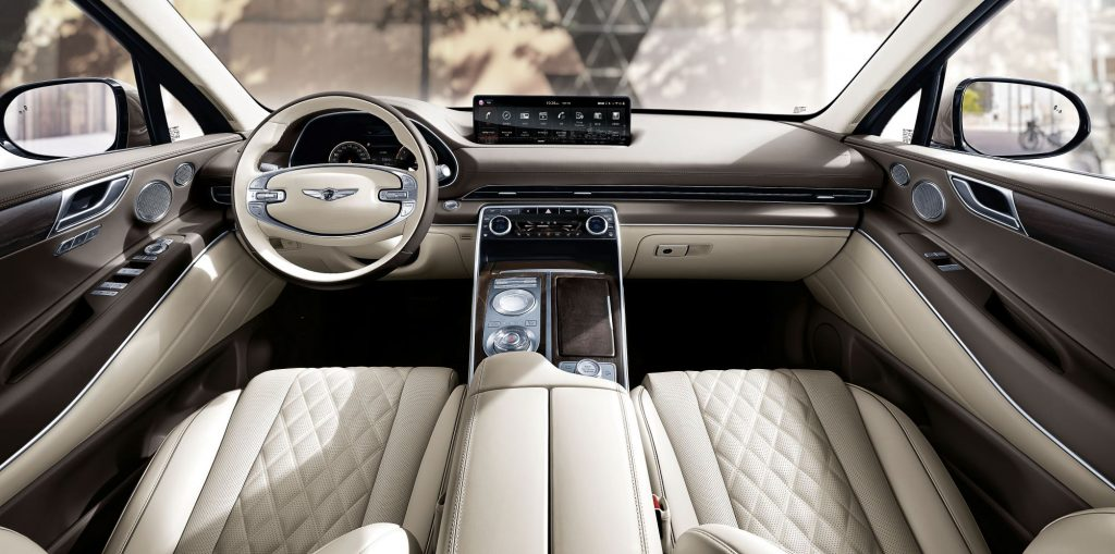 Genesis GV80 interior front