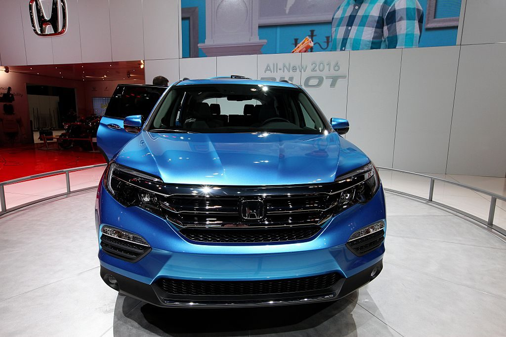 2016 Honda Pilot at the 107th Annual Chicago Auto Show
