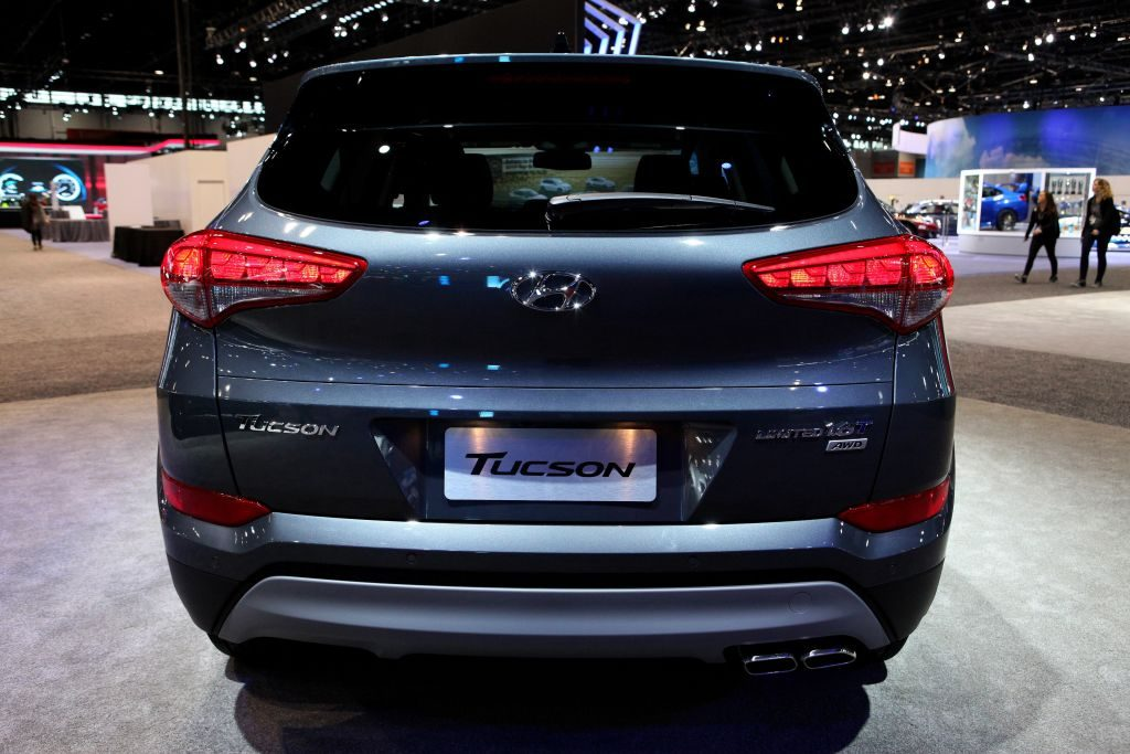 The Hyundai Tucson at the Annual Chicago Auto Show