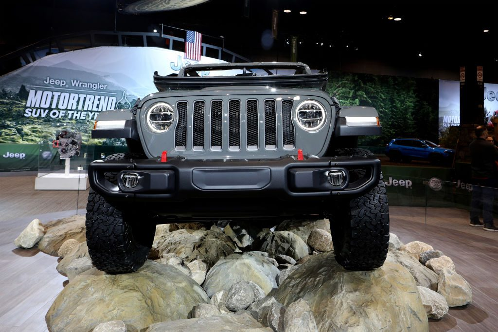 The 2019 Jeep Wrangler Rubicon at the Annual Chicago Show